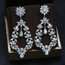 Load image into Gallery viewer, Sheena - Zirconia Earrings (TF) - ebrooklael