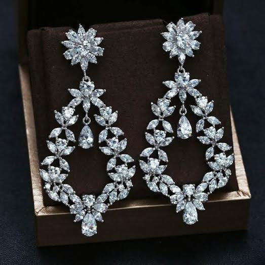 Sheena - Zirconia Earrings (TF) - ebrooklael