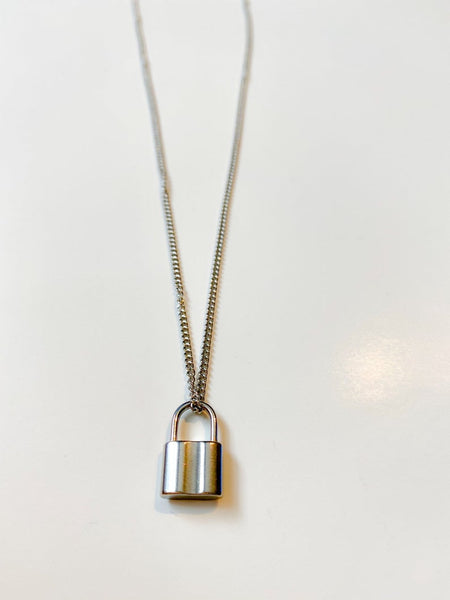 Luxe lock  Necklace 18k (TF) - ebrook lael