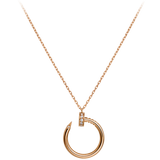 CURVE nail Necklace TARNISH FREE - ebrook lael
