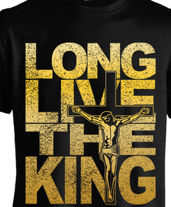 """Long live the KING  "" ladies crew neck - ebrook lael"