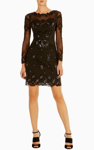 Shree Noir cocktail dress - ebrook lael