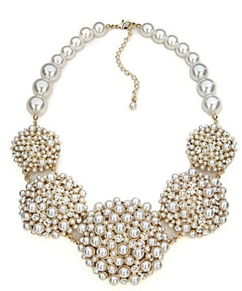 Statement Pearl necklace - ebrook lael