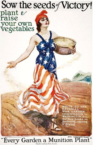 Home > Photography > Special Collections > National Archives > Posters > World War I Sow the Seeds of Victory! - Circa 1918 poster