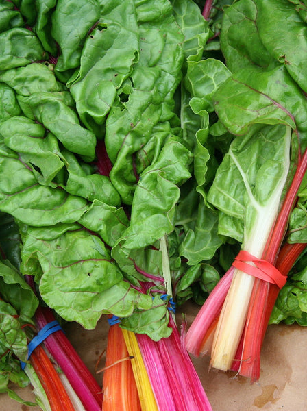 Rainbow chard image##Jona Thunder##http://commons.wikimedia.org/wiki/Category:Chard#mediaviewer/File:SwissChard.jpg