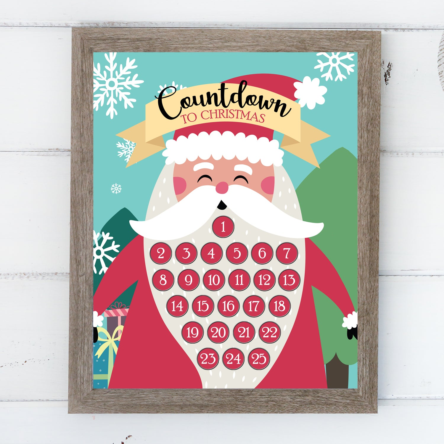 Additional Insert: Countdown to Christmas - Santa