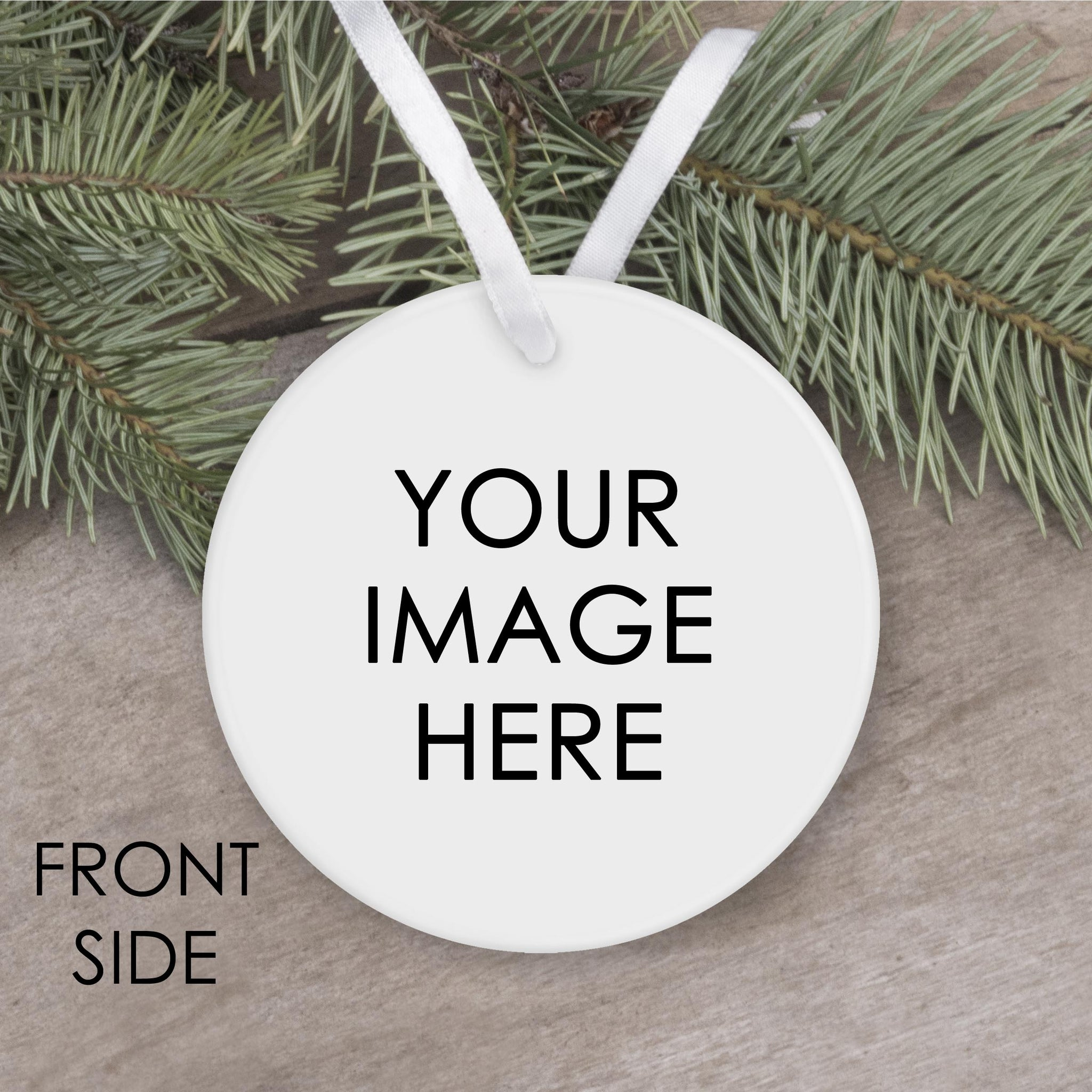 Custom Image Metal Ornament