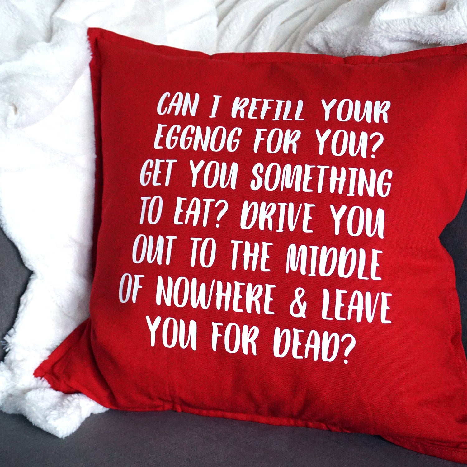 Christmas Vacation Themed Pillow - Ready to Ship