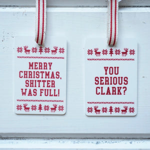 """You Serious Clark?"" National Lampoons Christmas Vacation Ornament"