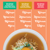 Keto Broth and Noodle Soup
