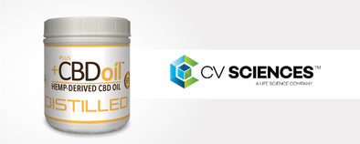 PlusCBD Oil and CV Sciences