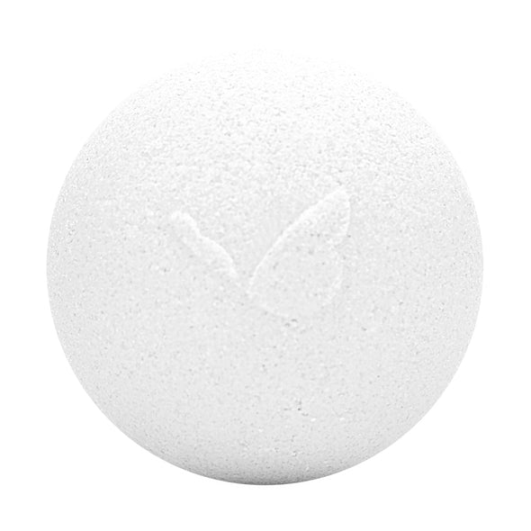 Pure CBD Unscented Bath Bomb with no label on