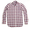 Culturata Chuck Chambray Buffalo Check Long Sleeve Shirt