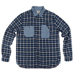 Kuyichi Metalwork Check Shirt
