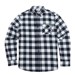Knowledge Cotton Apparel Brushed Flannel Check Shirt
