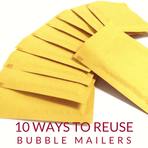 List of 10 ways to Reuse your Bubble Mailer