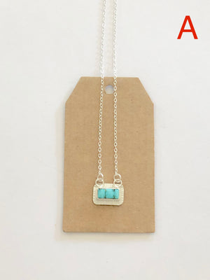 Turquoise Mountain Mine Turquoise Pendant A