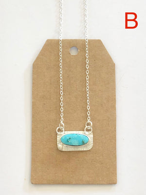 Turquoise Mountain Mine Balance Necklace B