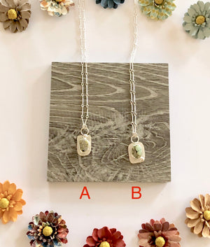Variscite Pendants On Chain