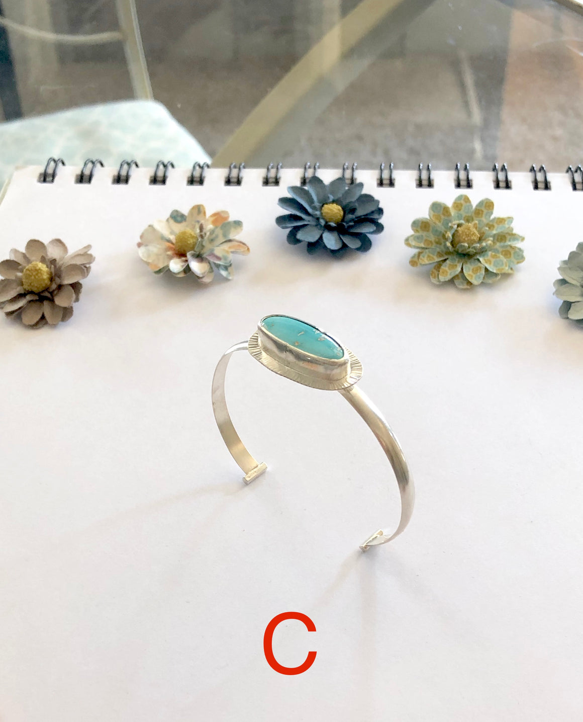 Turquoise Bangle Bracelets