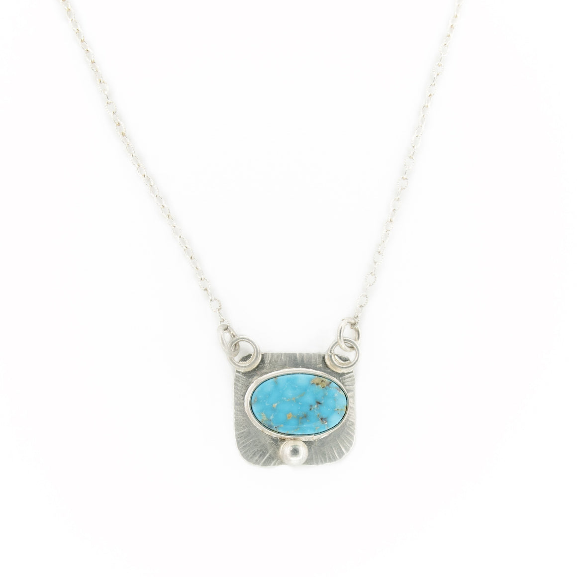 Billie - Balance Turquoise Necklace