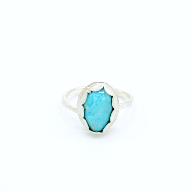 Bobbie - Royston Turquoise Ring - Original Sin Jewelry