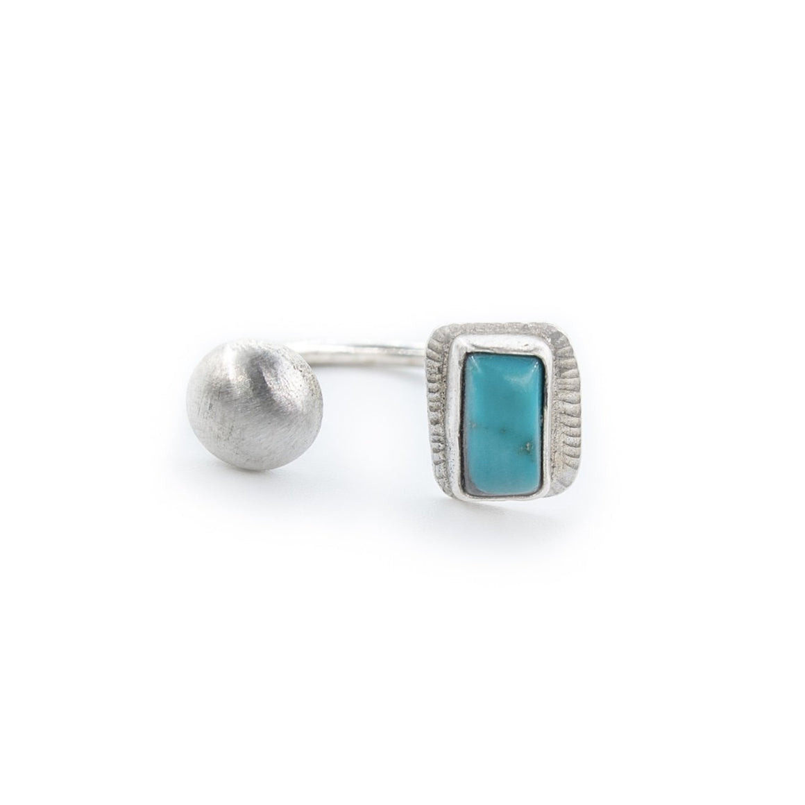 Sierra Nevada Turquoise Open Ring by Original Sin Jewelry
