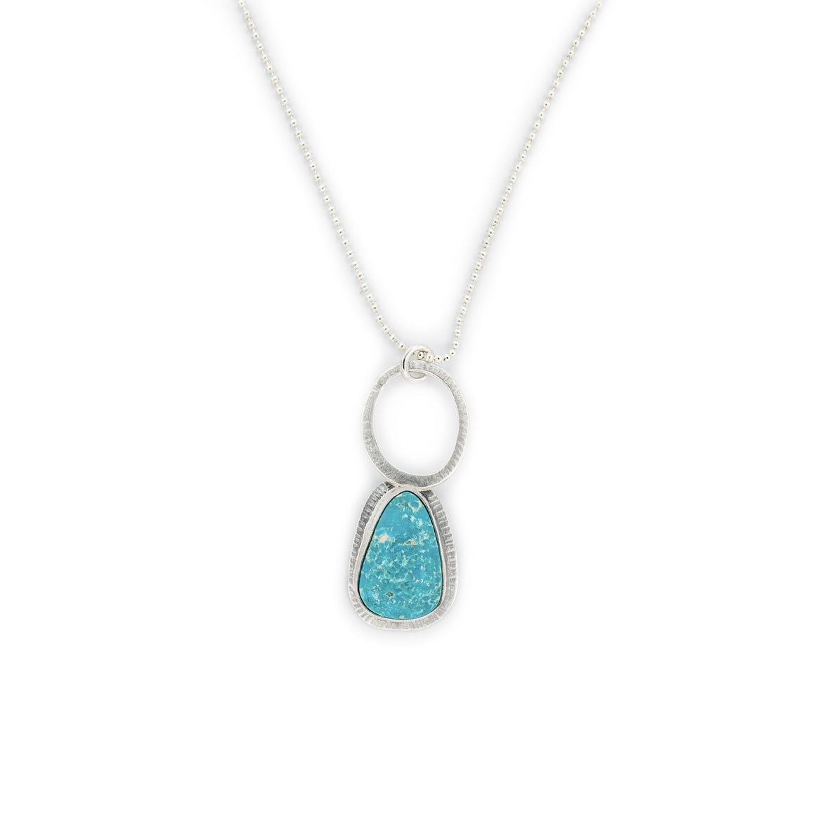 White Water Turquoise Necklace from Original Sin Jewelry