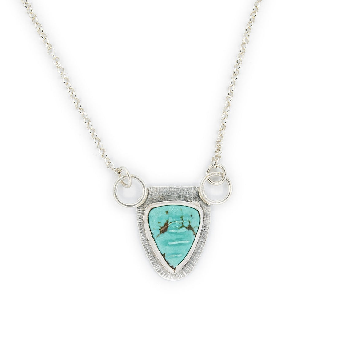 Celina - Balance - Pilot Mountain Turquoise Necklace - Original Sin Jewelry