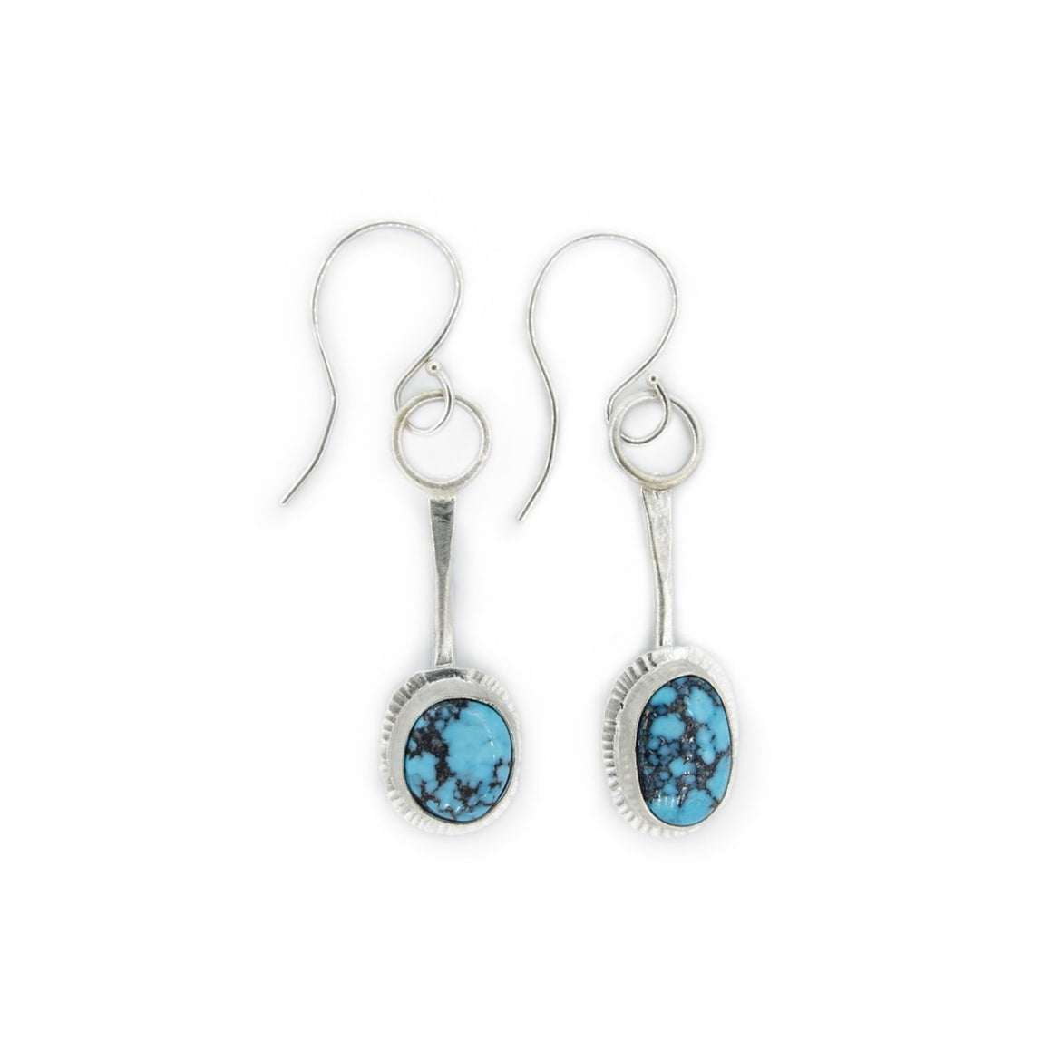Datyah - Kingman Turquoise Pendulum Earrings
