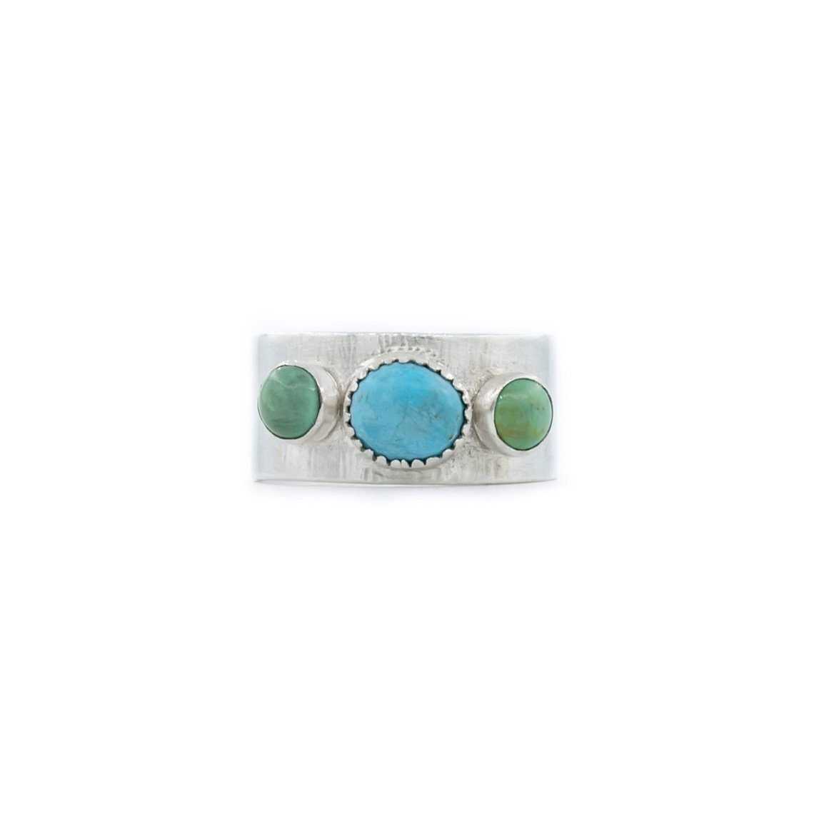 Wedding Band Turquoise Ring by Original Sin Jewelry