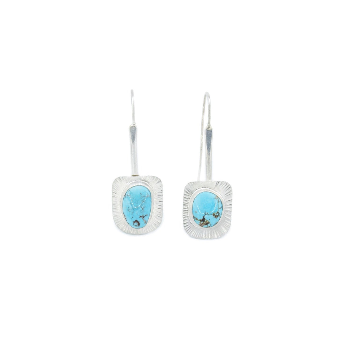 Blue Moon Turquoise Earrings by Original Sin Jewelry