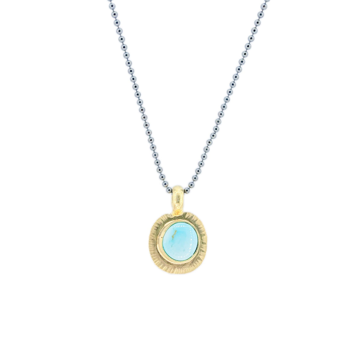 Blue Moon Necklace in 18k Gold by Original Sin Jewelry