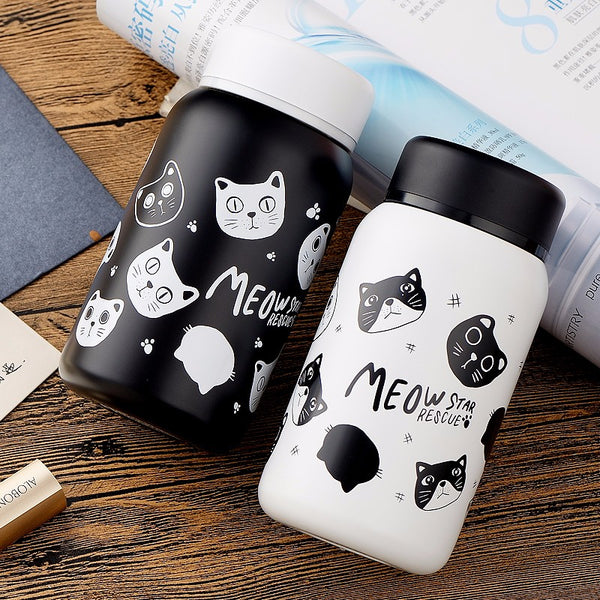 Cat Thermos - stainless steal