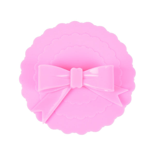 Cute Cup Cover Bowknot Pink