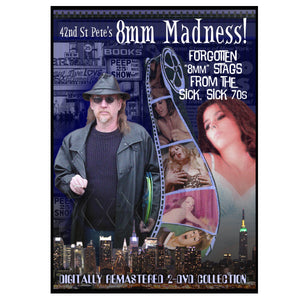 Home 8mm Movie Collection - 42nd Street Pete's 8mm Madness Vol. 1 No.1 (DVD)