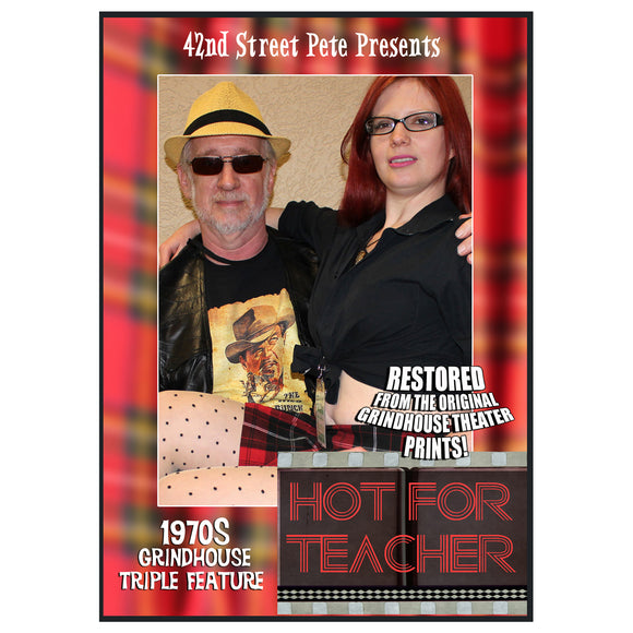 Teacher 1970s 3-Film Collection Presented by 42nd Street Pete (DVD)