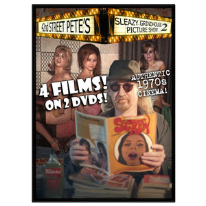 Sleazy Grindhouse Picture Show Vol. 2 Presented by 42nd Street Pete (DVD)