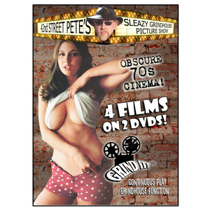Sleazy Grindhouse Picture Show Vol. 1 Presented by 42nd Street Pete (2-DVD)