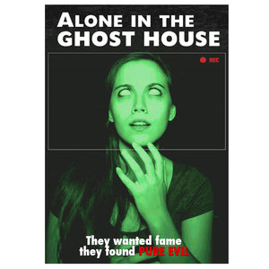 Alone in the Ghost House (DVD)