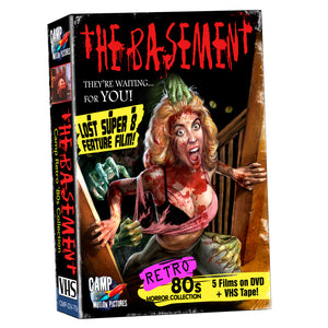 The Basement Limited Edition BIG BOX VHS/DVD