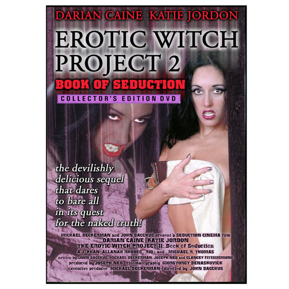 Erotic Witch Project 2: Book of Seduction (DVD)