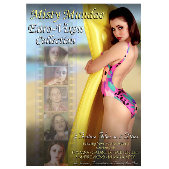 Misty Mundae Euro Vixen 4-Film Collection