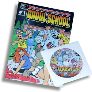 Ghoul School (Comic Book / DVD Combo)