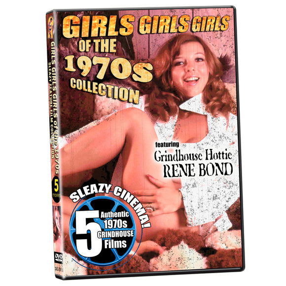Girls Girls Girls of the 1970s Collection - Rene Bond (DVD)