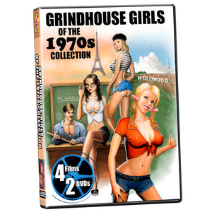 Grindhouse Girls of the 1970s (2-DVD)
