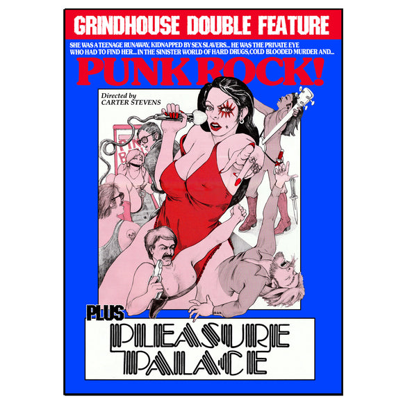 PUNK POCK / PLEASURE PALACE Double Feature (DVD)
