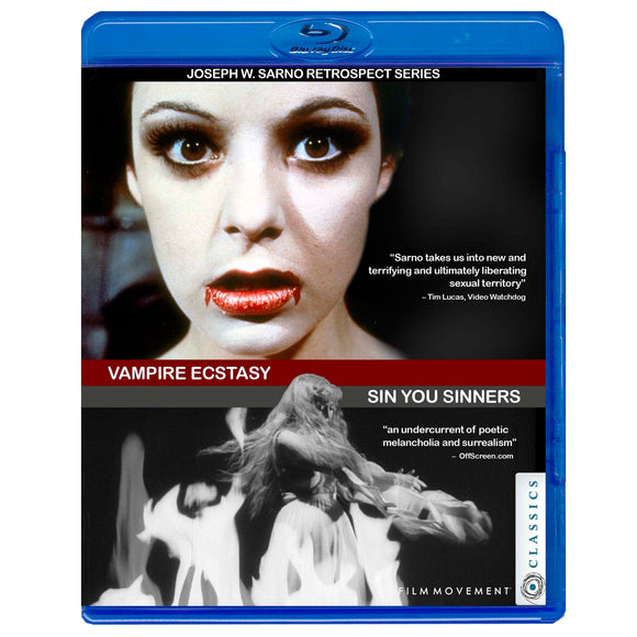 Joe Sarno Retrospect Series Vol. 1: Vampire's Ecstasy / Sin You Sinners (Blu-Ray)