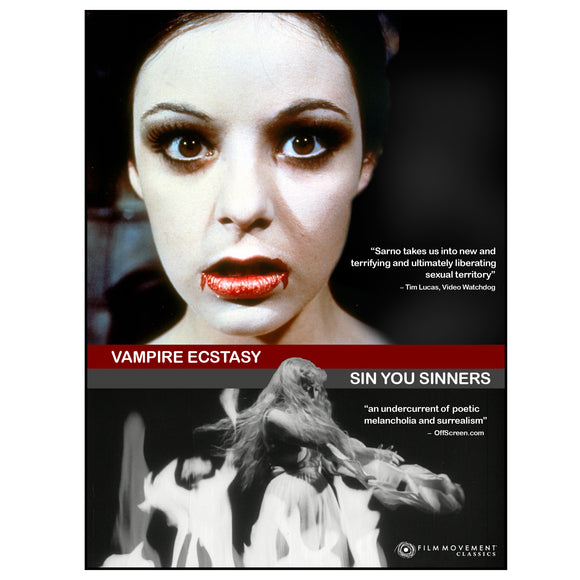 Joe Sarno Retrospect Series Vol. 1: Vampire's Ecstasy / Sin You Sinners (DVD)