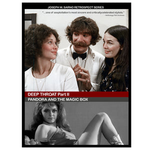 Joe Sarno Retrospect Series Vol. 3: Deep Throat Part II Collection (2-DVD)